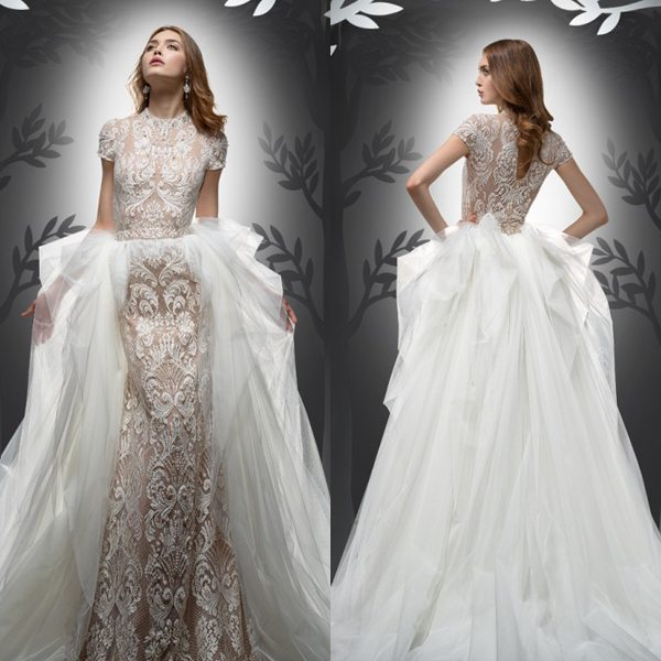 10 Convertible, Two-in-One Wedding Gowns That Will Steal The Show ...