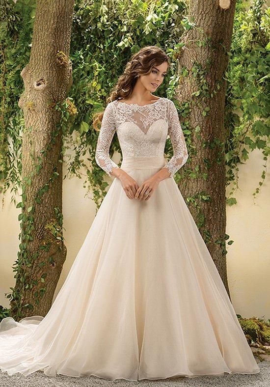 10 Whimsical Wedding Gowns - With Sleeves! | Wedding Attire ...
