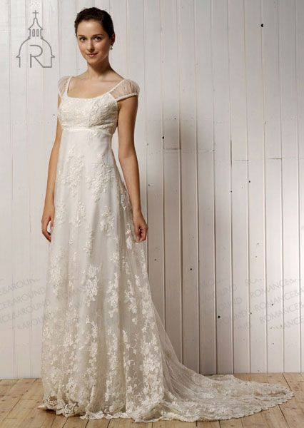 10 More Flattering Wedding Gowns with Empire Waistlines | Wedding ...