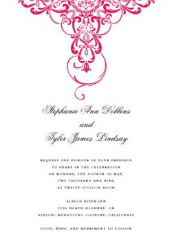 Jewel Invitation