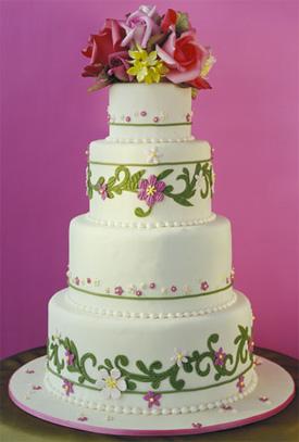 Ron Ben Isreal Wedding Cake