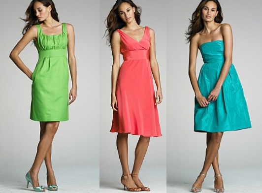 JCrew Bridesmaid Dresses