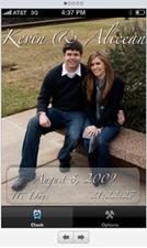 Wedding Date iPhone app
