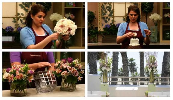 Flower DIYvas