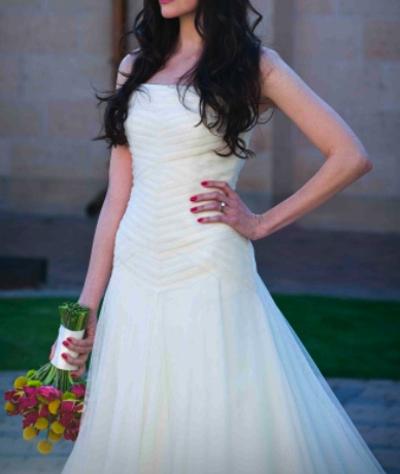 Vera Wang Wedding Dress Basque Waist