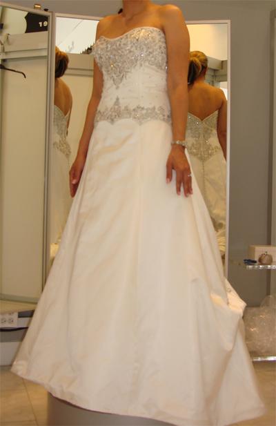 Priscilla of Boston Pre-Sale Wedding Dress