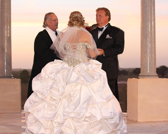 Real Wedding: Kristin and Dick