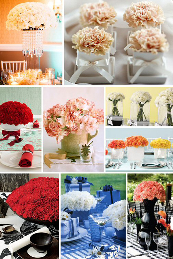 The Look for Less: Carnations!