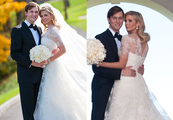 ivanka trump wedding gown. Ivanka Trump | Vera Wang