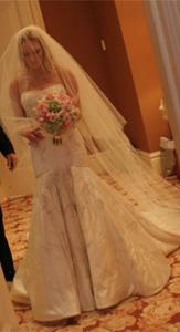 Lazaro Glamourous Wedding Dress