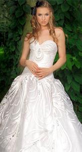 Jorge Manuel Glamorous Wedding Dress