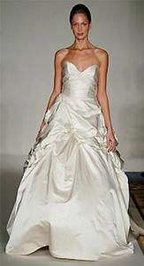 Monique Lhuillier Glamorous Wedding Dress