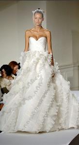 Oscar de la Renta Glamorous Wedding Dress