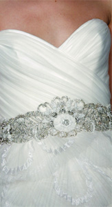 Kenneth Pool by Amsale Glamorous Wedding Dress