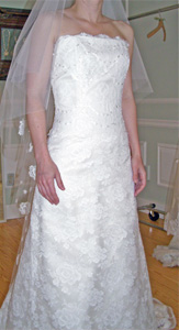 Sample Melissa Sweet Wedding Dress