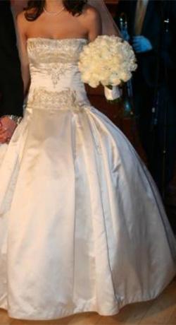 Ball Gown Wedding Dress by Reem Acra