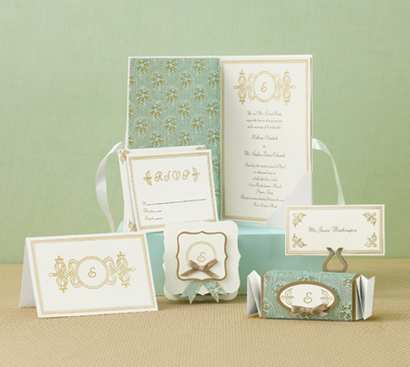 Diy wedding invitations preowned wedding dresses for Wedding invitation kits martha stewart