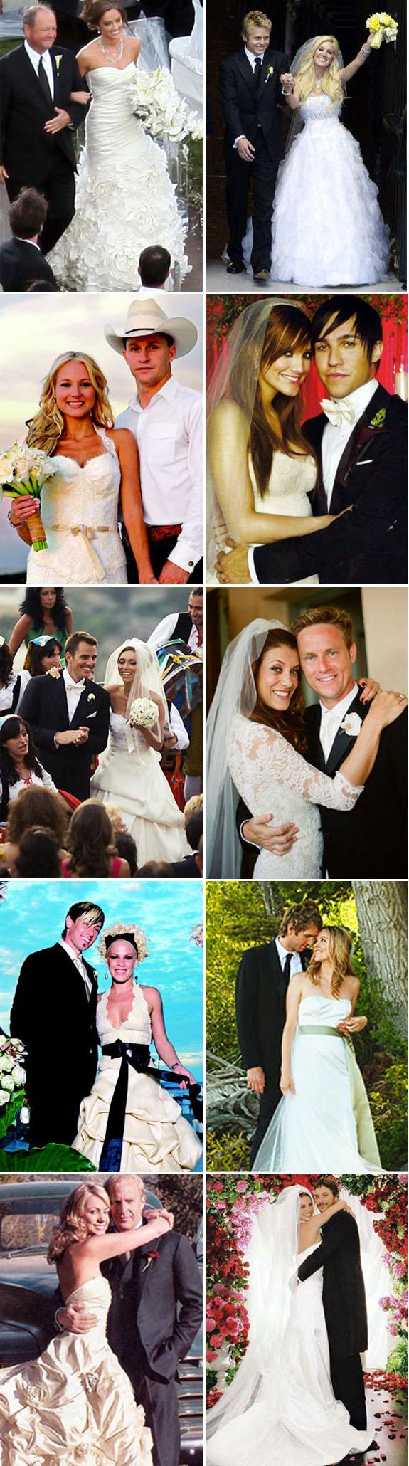 Celebrity Wedding Style: Monique Lhuillier | PreOwned Wedding Dresses