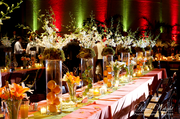 The Look for Less Fruit Centerpieces May 3rd 2010
