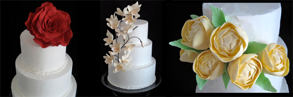 Diy wedding cake make your own wedding cake with sugar for Can i make my own wedding dress