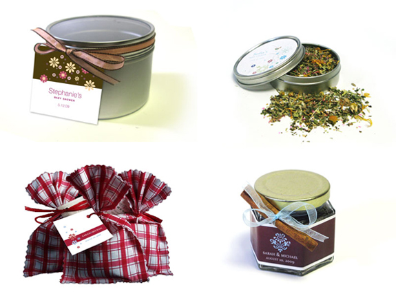 Planning a Fall wedding Try the Fall Spice tea packaged in an ecofriendly