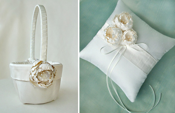 Flower Girl Baskets How To Make : Win wednesday your flower girl basket and ring