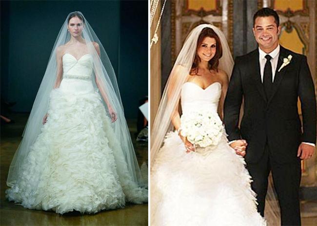 black celebrity wedding dresses - JASMINE BRIDAL
