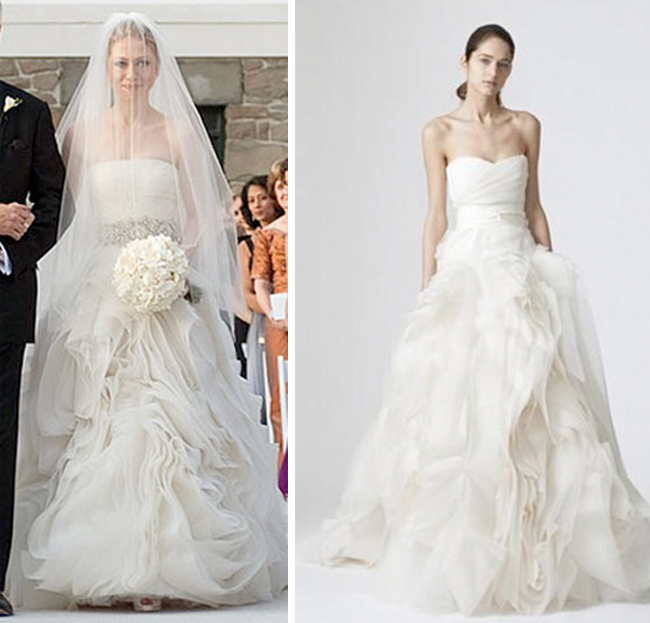 Khloe Kardashian's Vera Wang Ethel currently available PreOwned Size 2
