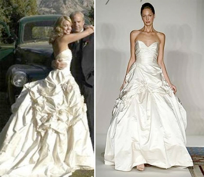 Chelsea Clinton Wedding Gown: Celebrity Wedding Dress Style