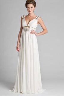 The best wedding dresses for apple shaped brides for Wedding dresses for apple shaped brides