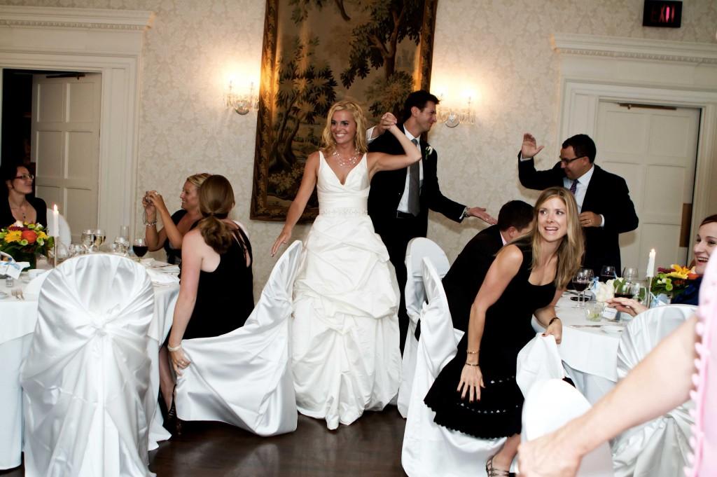 Nudist wedding reception photos