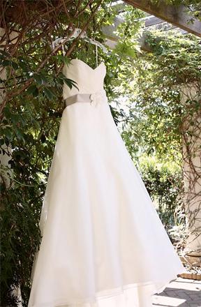 Rock Your Wedding Dress Hanger Shot