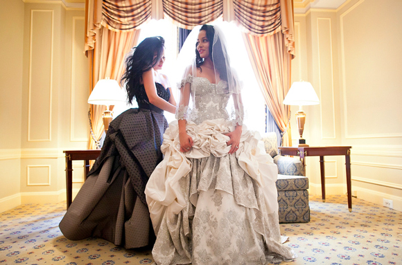 Real Wedding Janice Gabriel PreOwned Wedding Dresses
