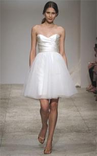 Short wedding dresses preowned wedding dresses for Melissa sweet short wedding dress