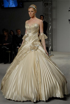 What 39 s your wedding dress style preowned wedding dresses for Used pnina tornai wedding dress