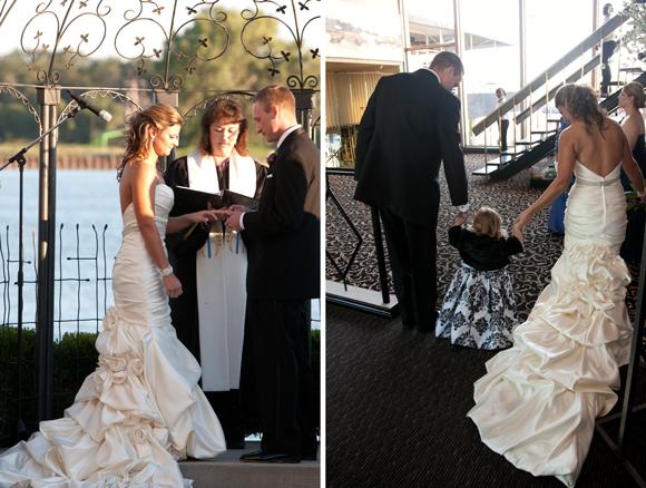 Real wedding miranda joseph preowned wedding dresses for Want to sell my wedding dress