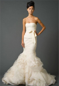 The 5 most popular preowned wedding dresses preowned for Best vera wang wedding dresses