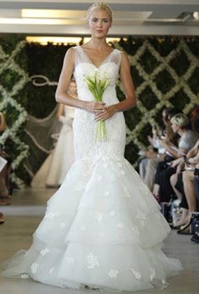 Oscar de la renta spring 2013 wedding dresses preowned for Oscar dela renta wedding dress