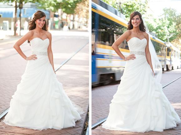 Real Wedding  Josie   Titus  PreOwned Wedding Dresses