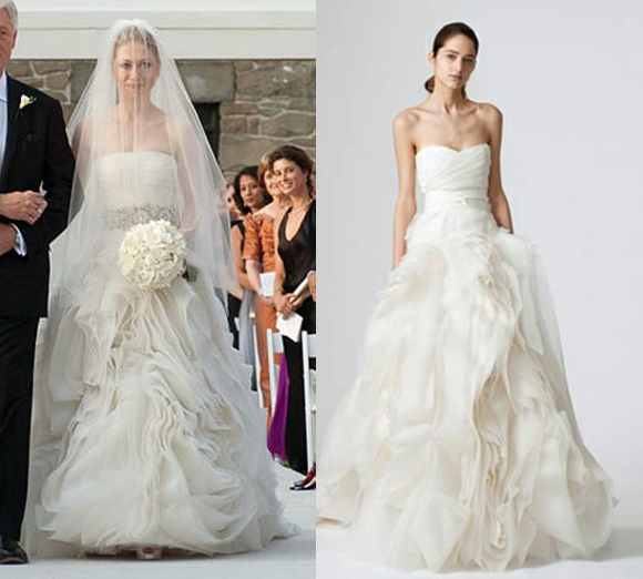 Chelsea Clinton Wedding Gown: Celebrity Wedding Dresses (At A Fraction Of The Cost
