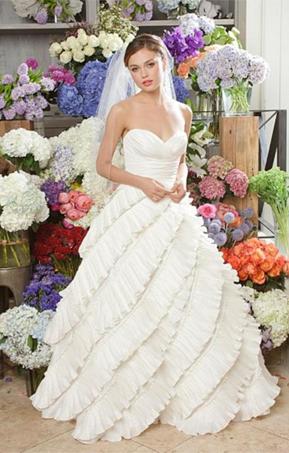 The Look for Less   Oscar de la Renta 92E25   PreOwned Wedding Dresses