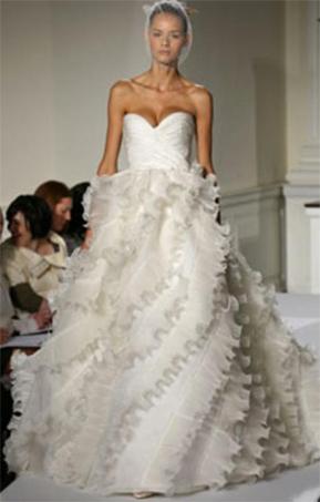 Oscar De La A Wedding Dress Prices