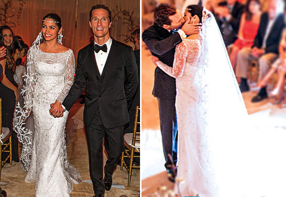 Top 5 Celebrity Wedding Dresses of 2012