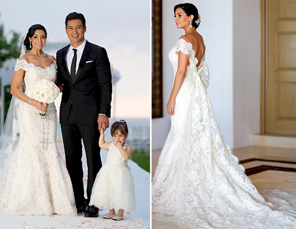 Top 5 Celebrity Wedding Dresses of 2012 | PreOwned Wedding Dresses