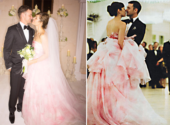 Top 5 celebrity wedding dresses of 2012 preowned wedding dresses