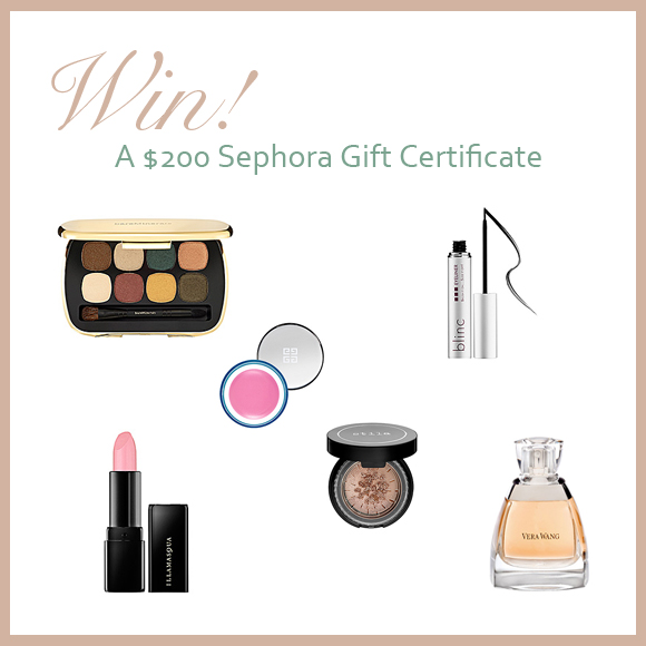 Win A USD200 Gift Certificate From Sephora! PreOwned Wedding Dresses