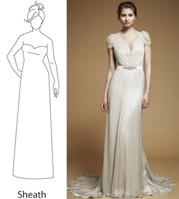 Get silhouette savvy preowned wedding dresses for Where to get wedding dresses