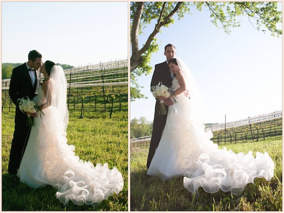 Lisa tim amsale wedding from nina parker photography for I need to sell my wedding dress