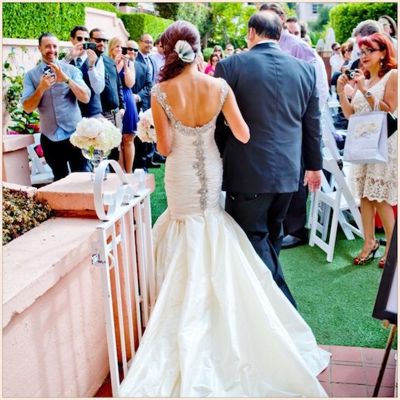 Christina Zachary Ines Di Santo Wedding From True