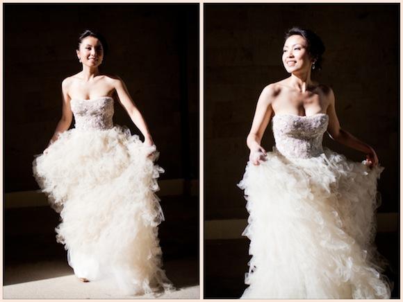 Monique Lhuillier Wedding From KC Chan
